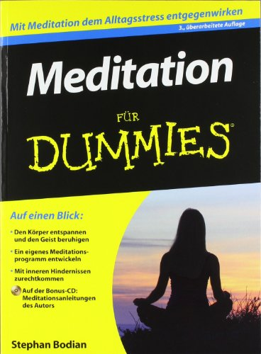Meditation für Dummies (Fur Dummies)