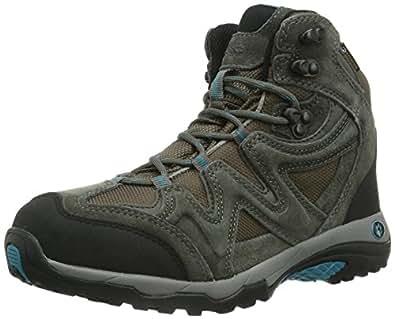 Jack Wolfskin  RUGGED HIKER TEXAPORE WOMEN, Chaussures de randonnée femme - Gris - Grau (tarmac grey), 42 EU