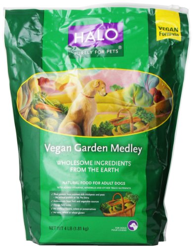 Halo Vegan Garden Medley Stew for Dogs, 4-Pound