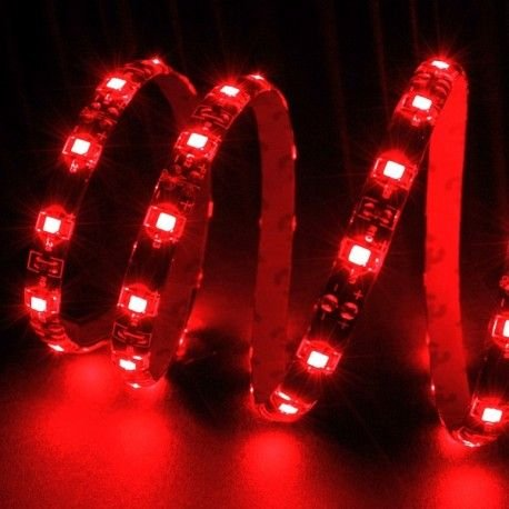Bande LED rouge ultrabrights 1 mètre