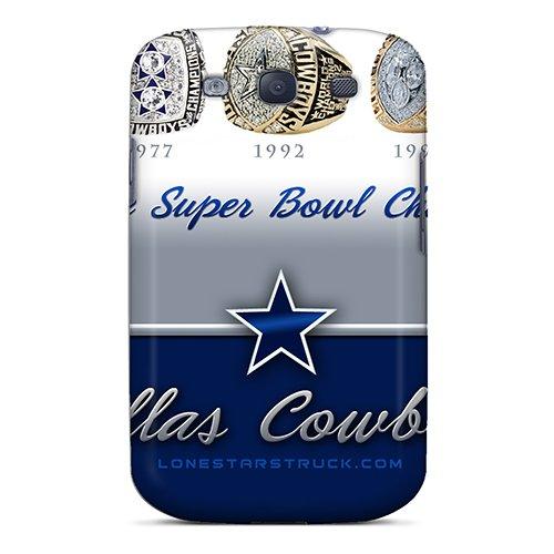 Hod1282Lzoe Cbuycases Dallas Cowboys Durable Galaxy S3 Tpu Flexible Soft Case