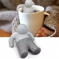 LYHBB Tea Tool Interesting Life Partner Cute Mr Teapot Tea Infuser/Tea Strainer/Coffee & Tea Sets silicone coffee strainer basket