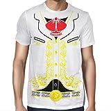 Viva Mexico Men's Mexican Mariachi Charro White T-Shirt