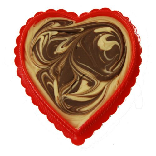 Chocolate Valentine Fudge