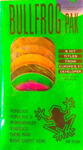 BULLFROG PAK 6-Game Set (MS-DOS)