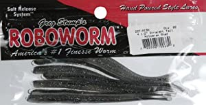 "Roboworm Straight Tail Worm 4-1/2"" - Hologram Shads"