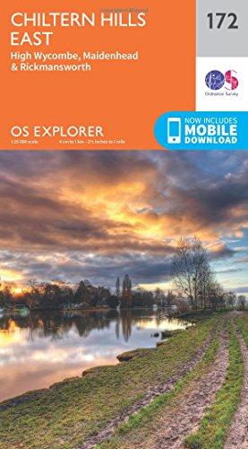 OS-Explorer-Map-172-Chiltern-Hills-East
