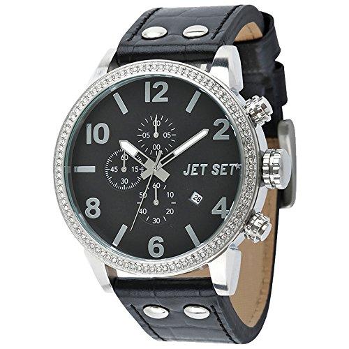 Jet Set dicono le donne Cronografo %2Fsilver J 74484-267 Firenze, colore: nero