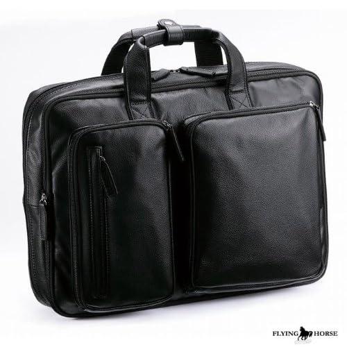 エンボス ホースレザー2ウェイバッグ / 2WAY ビジネスバッグ / ブリーフケース 25820001