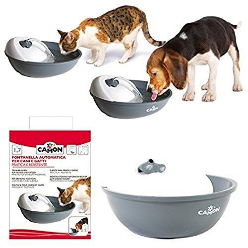 Camon Fontanella automatica per cani e gatti pratica e resistente + OMAGGIO ciotola tascabile