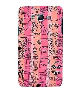 EPICCASE Fashion Case Mobile Back Case Cover For Samsung Galaxy J5 (Designer Case)
