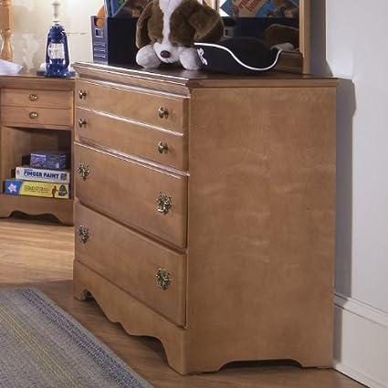 Carolina Furniture 155300 Common Sense Single Dresser In Salem Maple