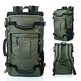 アウトドア ハイキング リュック 登山用 バックパック 旅行 バック 大容量 40L 【MGC JAPAN TRADE】 (グリーン)