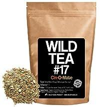 Organic Yerba Mate Herbal Tea With Cinnamon and Orange Peel, Wild Tea #17 Cin-O-Mate by Wild Foods (4 ounce)
