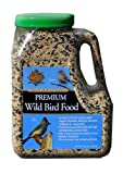 Mills Brothers Premium Wild Bird Food in Easy Pour & Store Container