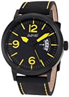 August Steiner Men's ASA812YL Swiss Quartz Bold Military Luminescent Watch by August Steiner