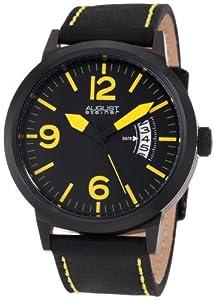 August Steiner Men's ASA812YL Swiss Quartz Bold Military Luminescent Watch by August Steiner