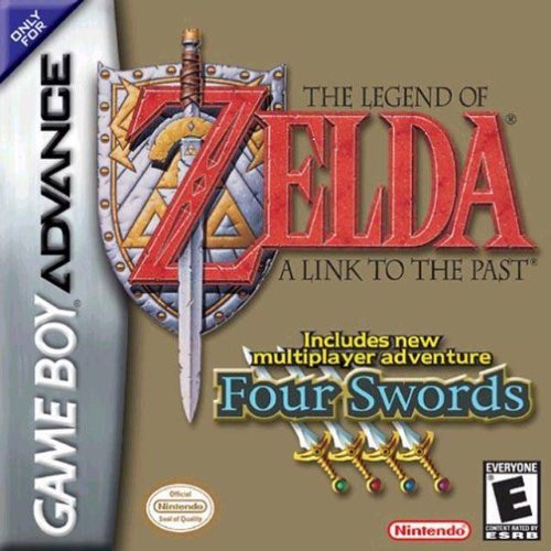 Legend of Zelda: A Link to the Past/ Four Swords (GBA - US)