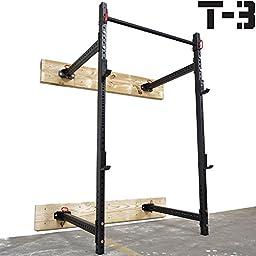 Titan Fitness T-3 Series Fold Back Power Rack 41\