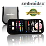 Embroidex Sewing Kit for Home, Travel...