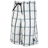 (ハーレー)Hurley Product Puerto Rico Boardshorts メンズ商品(メンズ) - White ホワイト / Black ブラック 【並行輸入品】