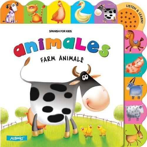 Animales: Farm Animals (Spanish for Kids)
