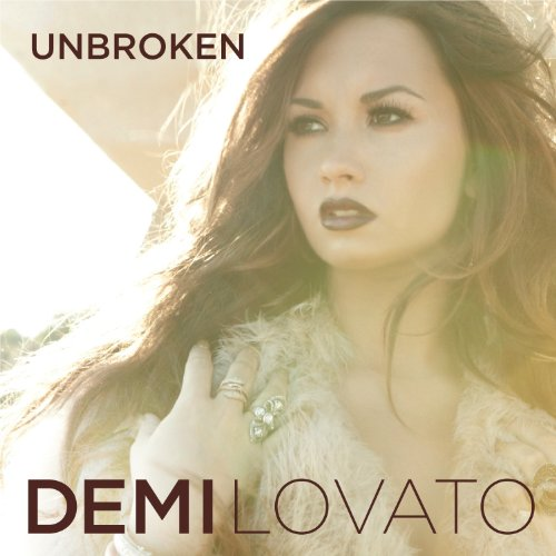 Original album cover of Unbroken by Demi Lovato