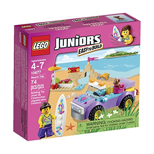 LEGO Juniors Beach Trip Set - 1