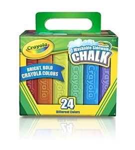 Crayola 24 Count Sidewalk Chalk