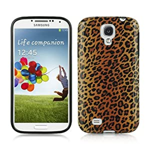 """VMG For Samsung Galaxy S4 i9500 S IV (4th Generation) - Fox Cheetah Leopard Premium Graphic Design Pattern Slim Profile 1-Pc Fitted Lightweight (Protects Against Drops) High-Quality Premium Skin Protective """"Sleek & Smooth, Fits Like A Glove""""Case [by VanMo"""