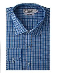 Arihant Men's Regular Fit Poly Cotton Checkered Shirt (AR72650340)
