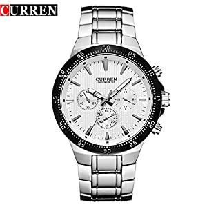 CURREN Quartz Sport New Fashion Men's Waterproof Wrist Watch 8063G