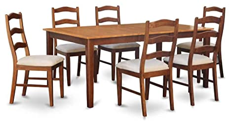 7-Pc Dining Set with 18 in. Butterfly leaf