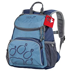 Jack Wolfskin Rucksack Little Joe, Smoke Blue, 30 x 24 x 14 cm, 26221-1073