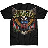 7.62 Design Men's T-Shirt Army 'Fighting Eagle
