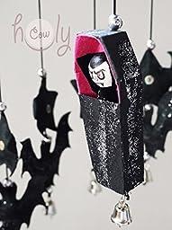 Handmade Dracula And Bat Hanging Mobile