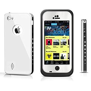 System-S /Étui /Étui de Protection Coque de Protection /à Rabat en Noir pour Apple iPod Touch 4