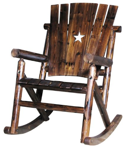Char-Log Single Rocker with Star