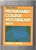 img - for Programmed College Vocabulary 3600 book / textbook / text book