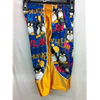 Flow Society Authentic Lacrosse Gear Mesh Shorts Penguin Dazzle Chillin Like a Villain size Youth Small