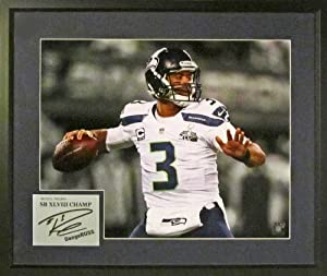 Buy Seattle Seahawks Russell Wilson SB XLVIII Champ Spotlight 16x20 Photograph (SGA Signature Series)... by Sports Gallery Authenticated