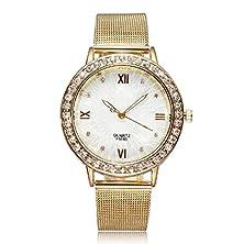 buy Merryday Diamond Gold Watch For Ladies Dress Quartz Watches