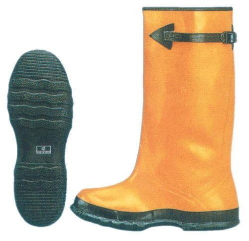 """17"""" Yellow Rubber Slush Boots – Lined Over Shoe – Sizes: 8-16 16"""""""