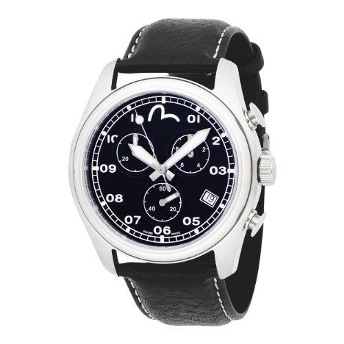 Evisu  Watches free shipping offer: EVISU Men's EV-7003-01 Hiro Stainless Steel Swiss Chronograph Watch