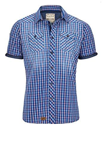 GOODYEAR -  Camicia Casual  - Uomo blau-weiss XL