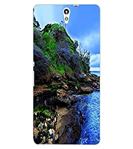 ColourCraft Nature Design Back Case Cover for SONY XPERIA C5 E5553 / E5506