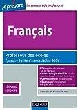 Français - Professeur des écoles - Epreuve écrite d'admissibilité 2014 - Nouveau concours