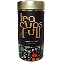 Assam Masala Chai, Top Quality Kadak Chai Blended With Natural Indian Spices, Aromatic Flavour You Will Fall in Love With, 100 Gms