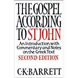 The Gospel According to St Johnby C.K. Barrett