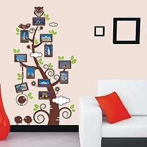 Buy Studio Briana Colourful Tree With Photo Frame Wall